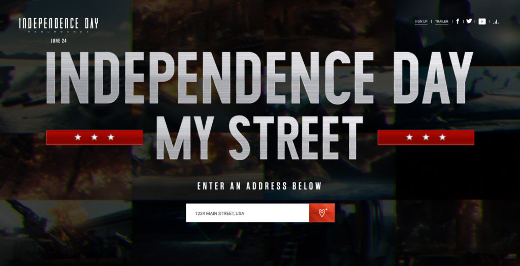 Independence Day 360 web google api