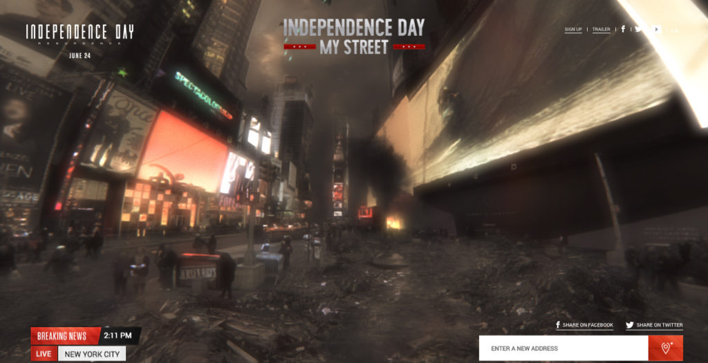 Independence Day 360 web