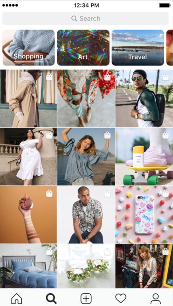 Instagram - nákupný kanál