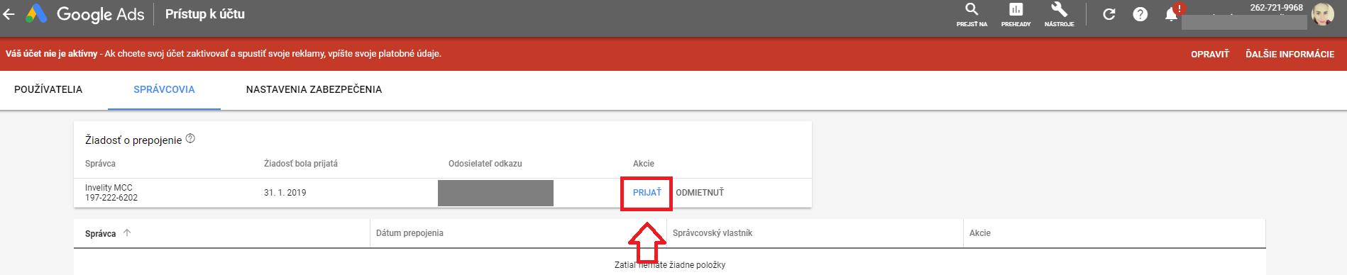 Google ads - 4.krok