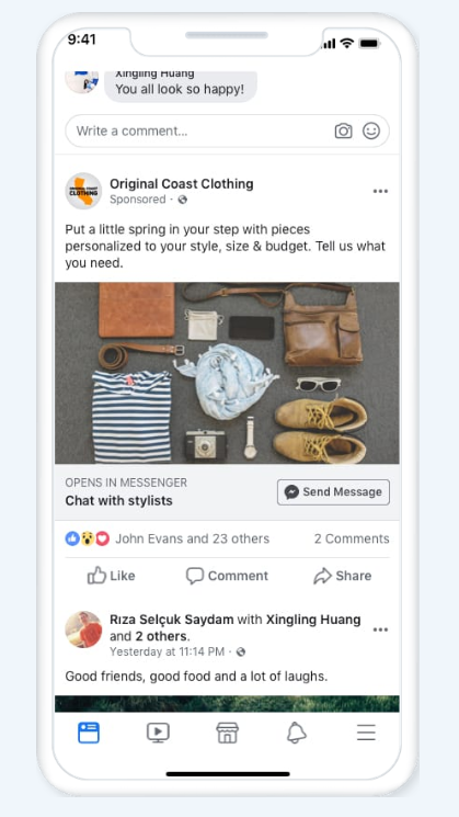 Messenger Lead Ads