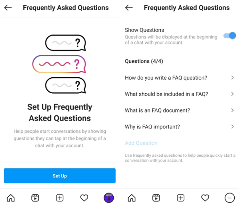 Instagram FAQ