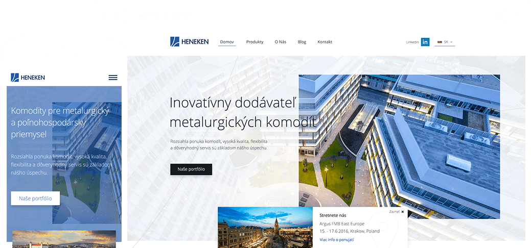 intro website heneken