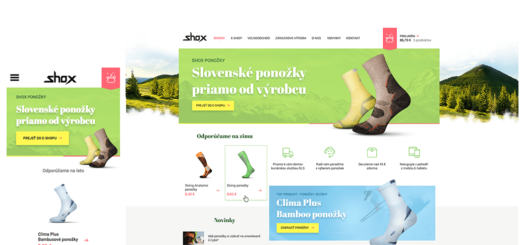 intro shox online store